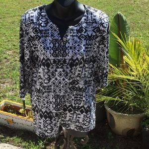 💃Amazing Palm Grove Size Small Tunic Style Top 💃
